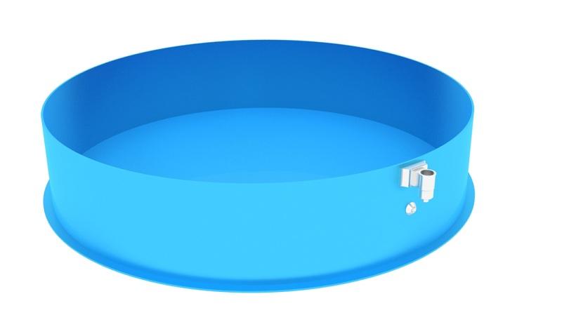 Nadzemní kruhový bazén NBK-3x0.75